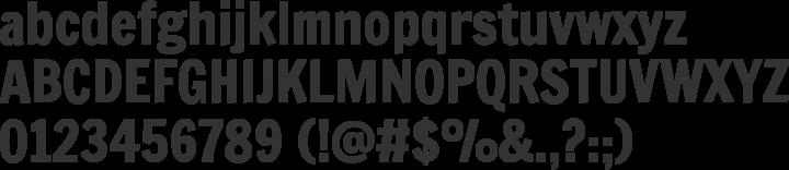 Francois One Font Specimen