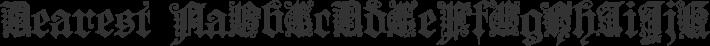 Dearest font family by West Wind Fonts