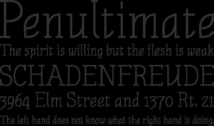 Nautik Font Phrases