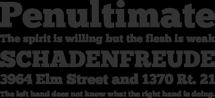 ChunkFive Font Phrases
