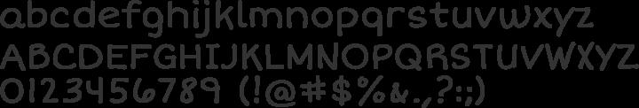 Short Stack Font Specimen