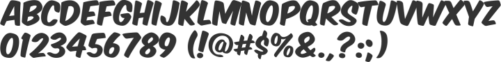 Komika Axis Font Specimen