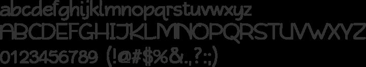Qarmic Sans Font Specimen
