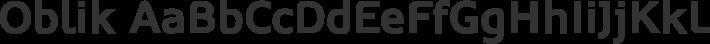 Oblik font family by Tour de Force