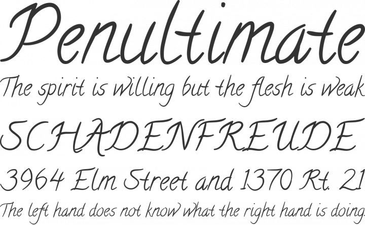 Calligraffiti Font Phrases