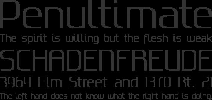 Gputeks Font Phrases
