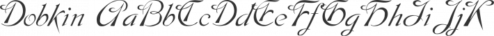 Dobkin font family by David Rakowski