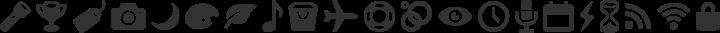 Entypo Regular free font