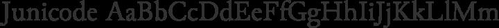Junicode Regular free font