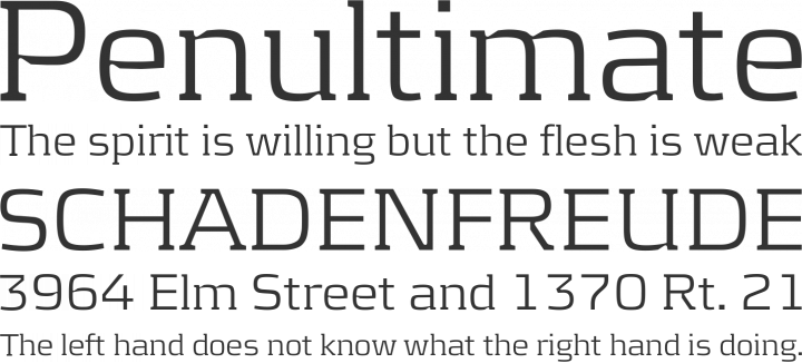 Kontrapunkt Font Phrases