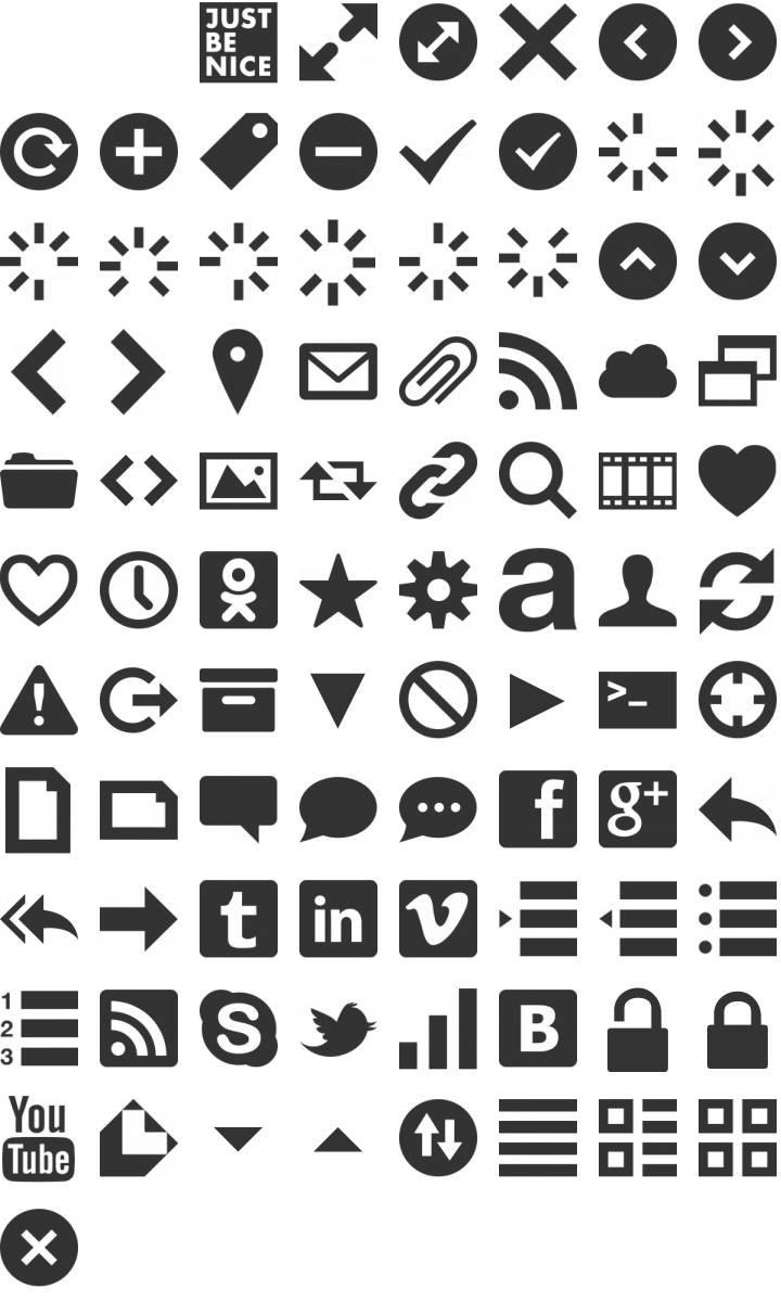 Web Symbols Font Gallery Meaning Of Text Symbols