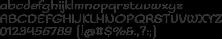 Sofadi One Font Specimen