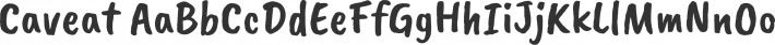 Caveat font family by Impallari Type