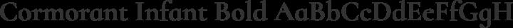 Cormorant Infant Bold free font