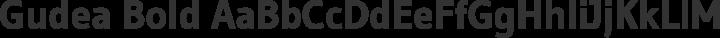 Gudea Bold free font