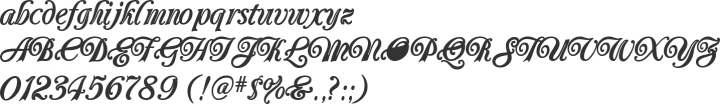 Carrington Font Specimen