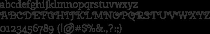Cherry Swash Font Specimen