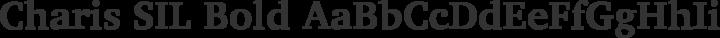 Charis SIL Bold free font