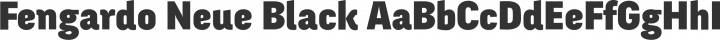 Fengardo Neue Black free font