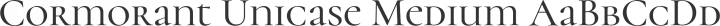 Cormorant Unicase Medium free font