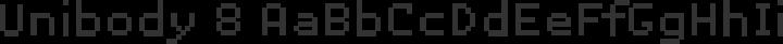 Unibody 8 Regular free font