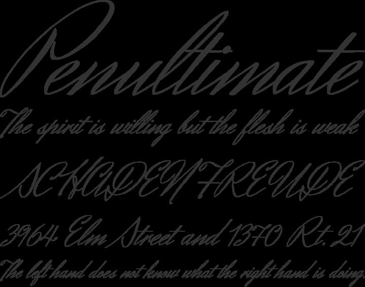 Herr Von Muellerhoff Font Phrases