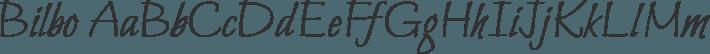 Bilbo font family by TypeSETit